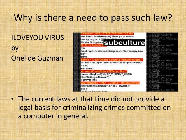cyber crime law Federal computer crime laws maxim may gsec law made it a crime to act with reckless disregard of a s.