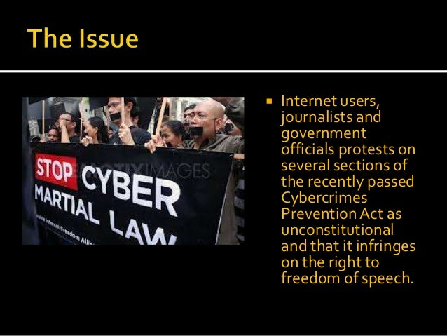 cyber crime internet freedom The cybercrime prevention act of 2012, officially recorded as republic act no 10175, is a law in the philippines approved on september 12, 2012 it aims to address legal issues concerning online interactions and the internet in the philippines.