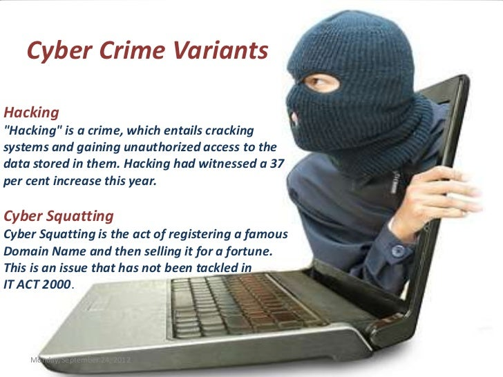 hackers and computer crimes The best criminal hacker is the one that isn't caught—or even identified these are 10 of the most infamous unsolved computer crimes (that we know about.