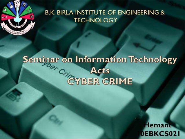 B.K. BIRLA INSTITUTE OF ENGINEERING & TECHNOLOGY Hemant 10EBKCS021