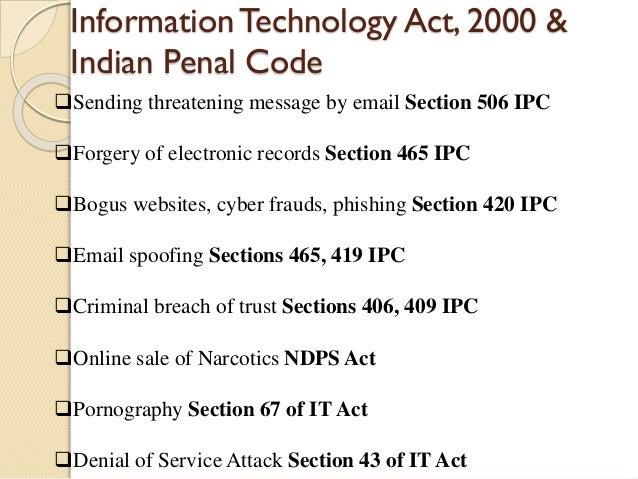 ipc 409 case study