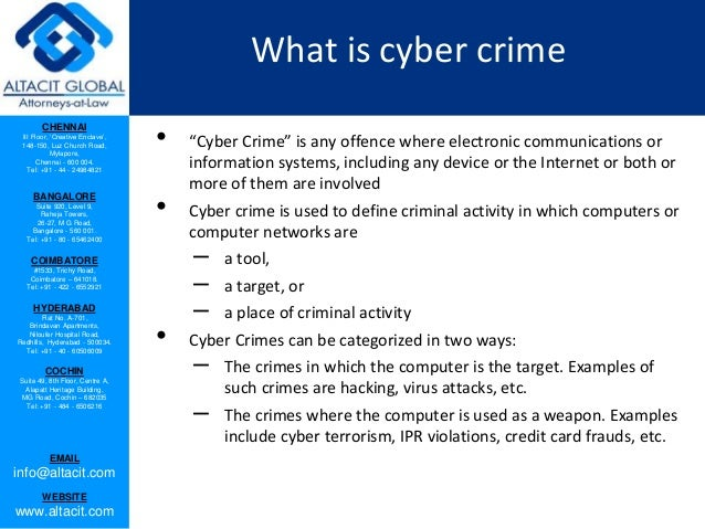 Cyber hacking and cyber crimes in India Slide 2