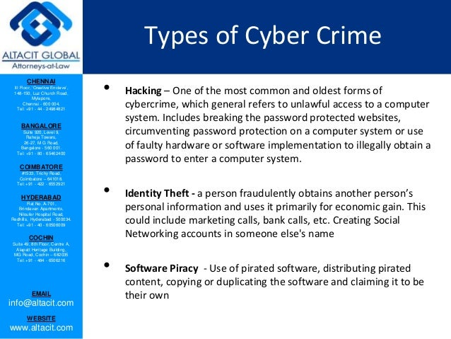 Cyber hacking and cyber crimes in India Slide 3