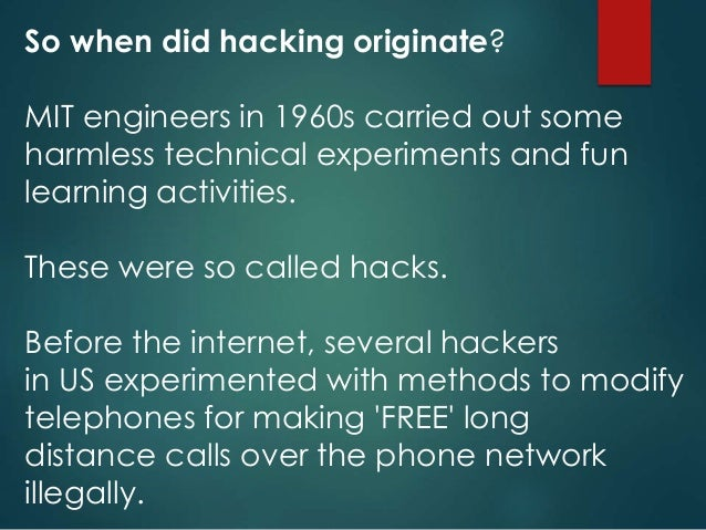 Hacking Vs Cracking In Computer Networks