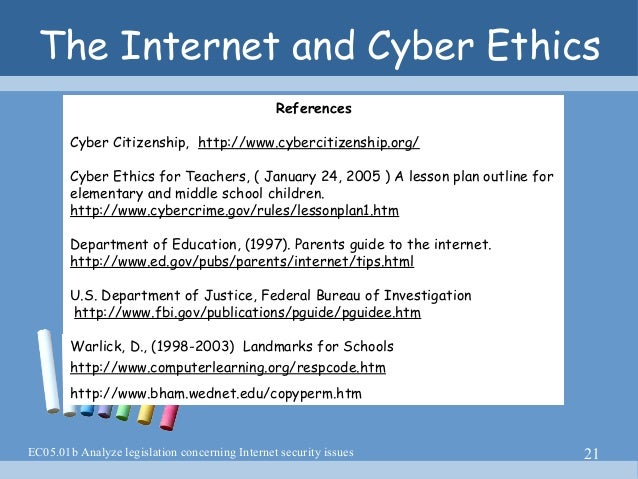 privacy cyber ethics