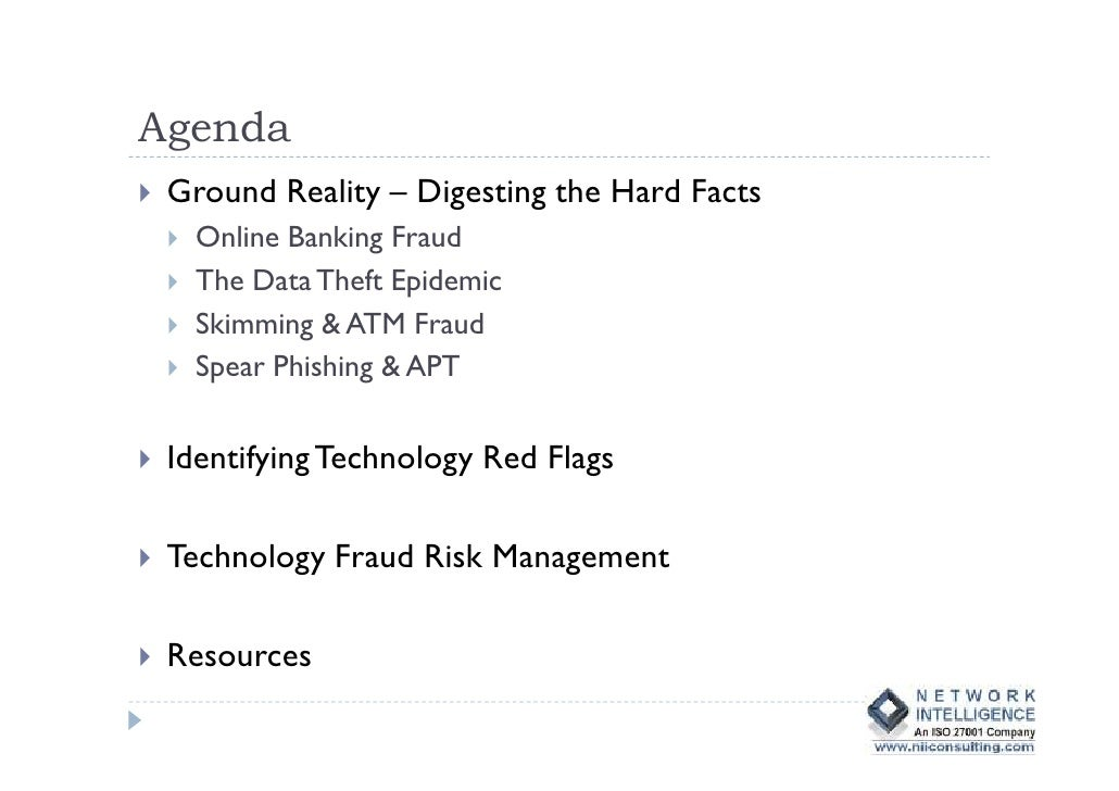 Cyber fraud in banks Slide 2