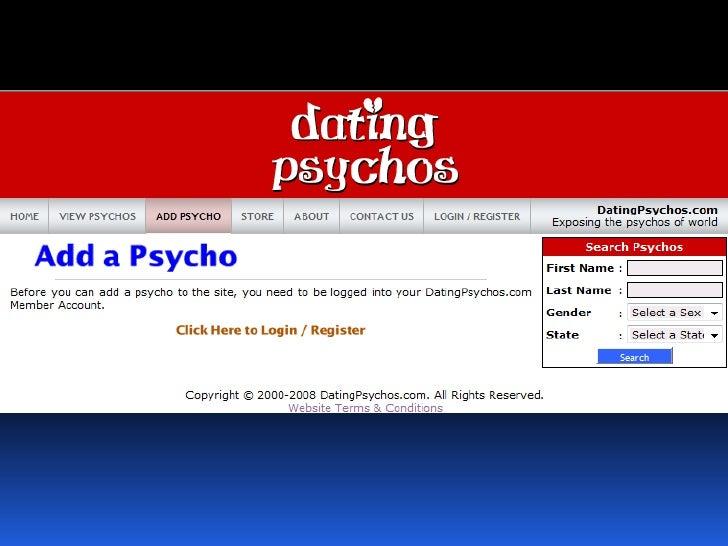 Datingpsychos dot com