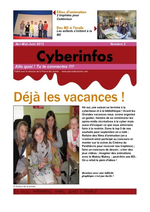 Cyberinfo juin 2013