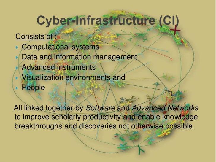 Cyber infrastructure in engineering design Slide 2