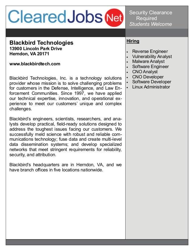 Cyber Job Fair Job Seeker Handbook Oct 29, 2014, Baltimore, MD on