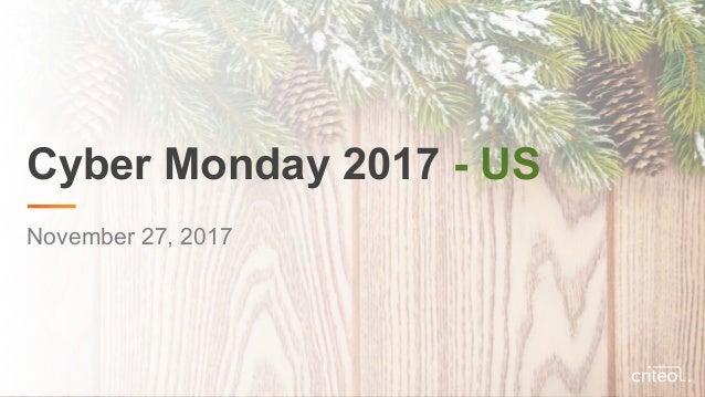 Cyber Monday 2017 - US November 27, 2017