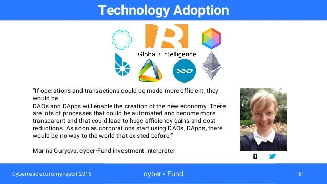 Cybernetic Economy Report 2015