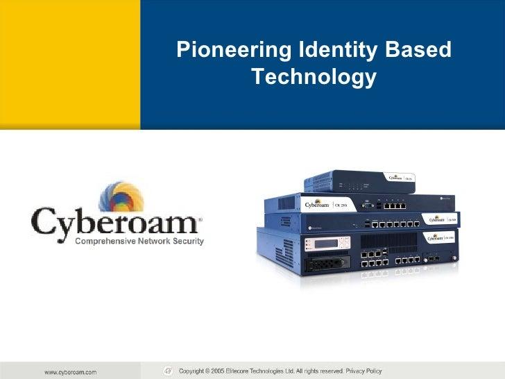 Pioneering Identity Based Technology