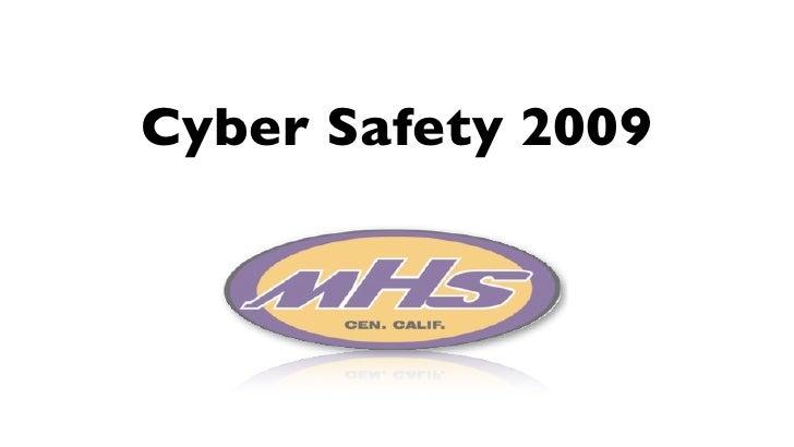 Cyber Safety 2009
