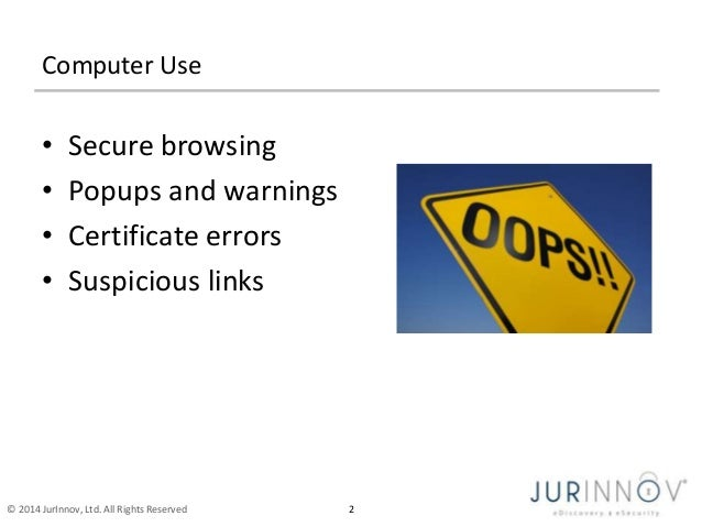 St. Mark Lutheran Cyber safety seminar - JurInnov - Eric Vanderburg Slide 3