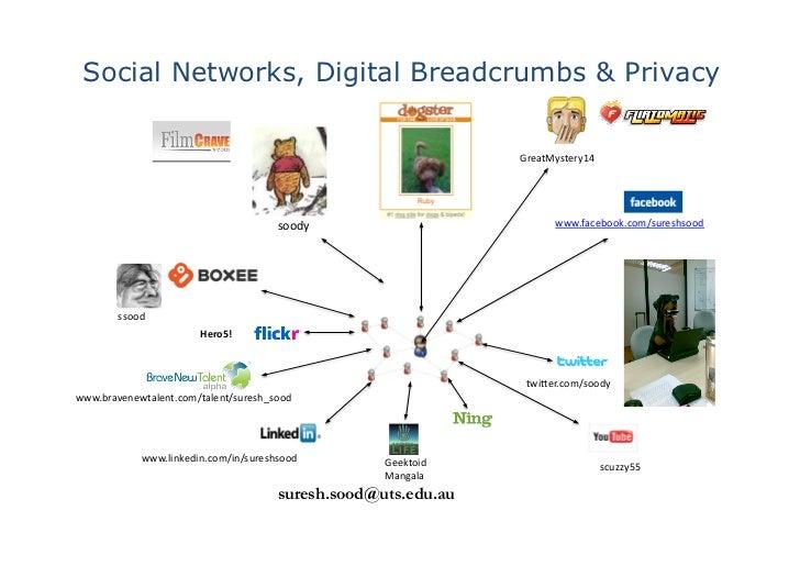 Social Networks, Digital Breadcrumbs & Privacy                                                                            ...