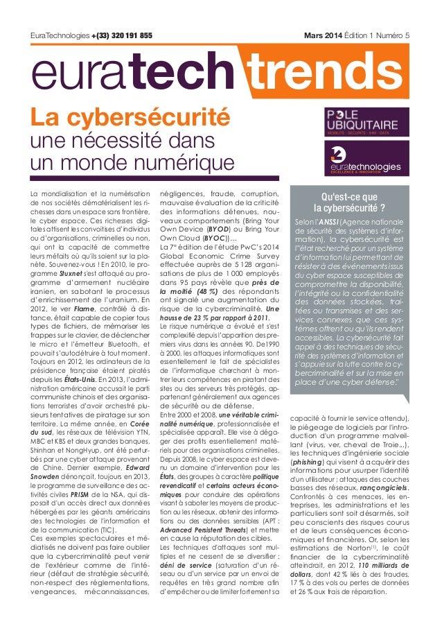 EuraTech Trends : la Cybersecurite