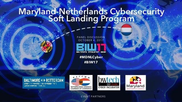 #MDNLCyber #BIW17