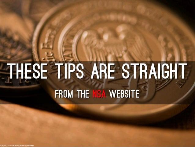 Cybersecurity - NSA Style Slide 2