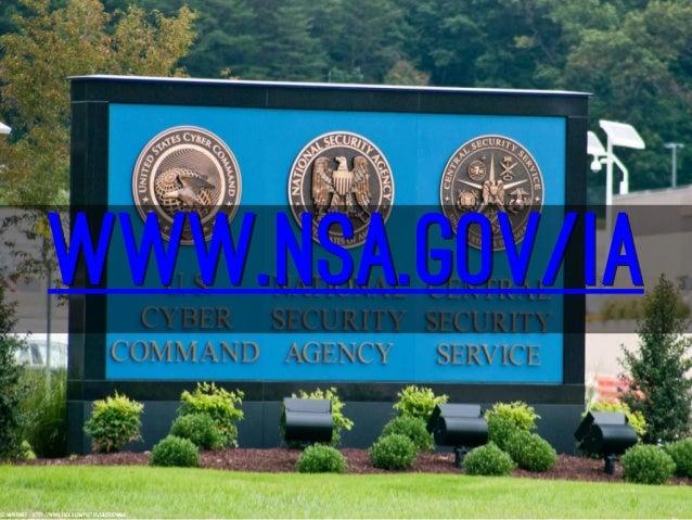 Cybersecurity - NSA Style Slide 3