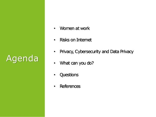 Cybersecurity and data privacy Slide 3