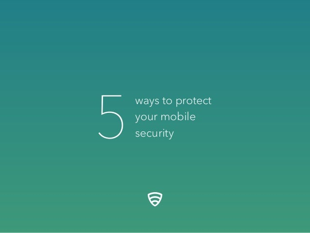 ways to protect your mobile security5