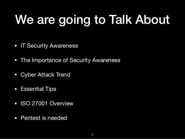 Cyber Security Awareness Slide 3