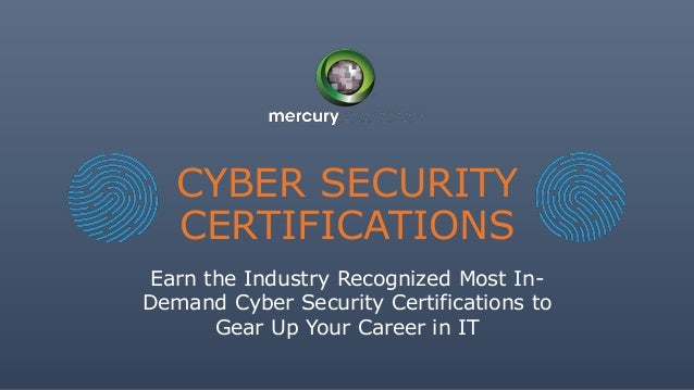The Ultimate Guide To Cyber Security Certifications