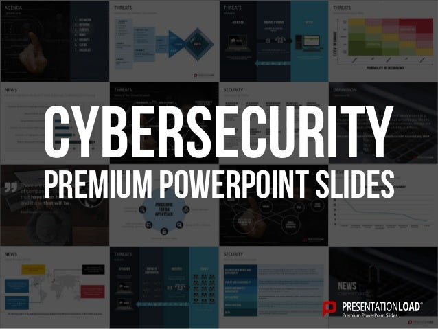 PREMIUM POWERPOINT SLIDES Cybersecurity