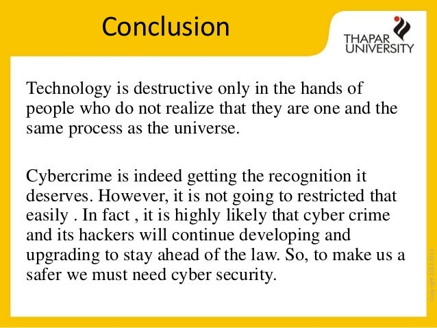 conclusion of cyber security Cyber security mis