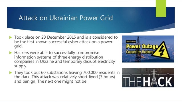 Electricity Grid Ukraine