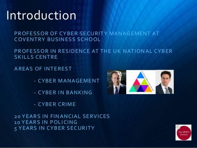 Cyber Security Richard Benham