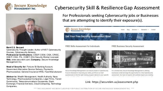 For Professionals seeking Cybersecurity jobs or Businesses that are attempting to identify their exposure(s). Cybersecurit...
