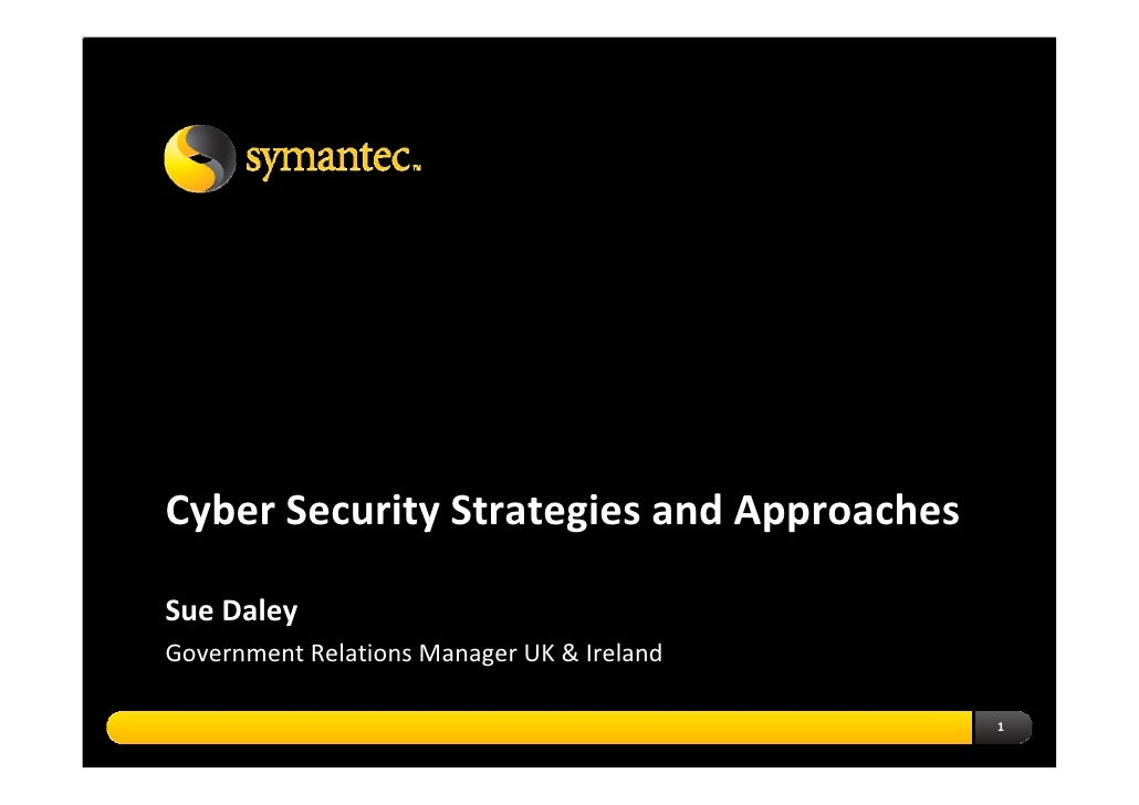 Cyber Security Strategies And Approaches