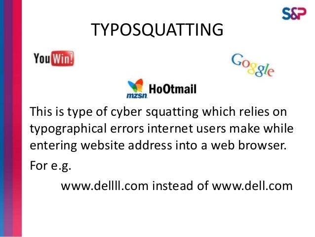 cybersquatting examples