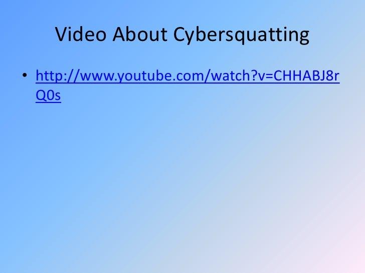 Cybersquatting cases: India