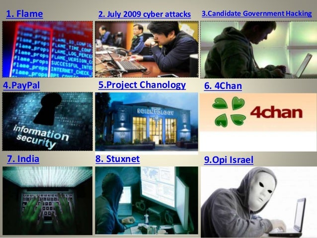 Cybercrime project chanology