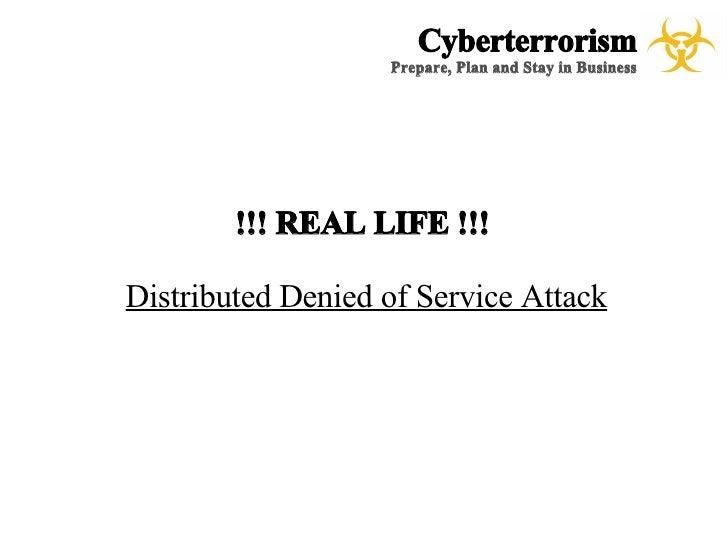 cyberterrorism a case study for emergency management cyberterrorism prepare