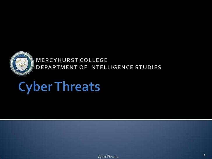 1Cyber Threats