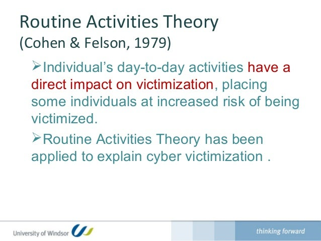 risk of crimes and victimization in Lifestyle and victimization have you ever been a victim of crime have you  worried about being victimized what will make you more vulnerable to crime  than,.