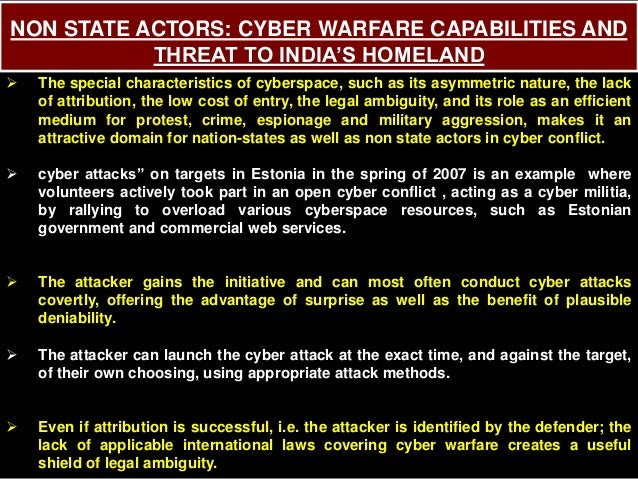 A Framework for Thinking About Cyber Conflict and Cyber Deterrence ...