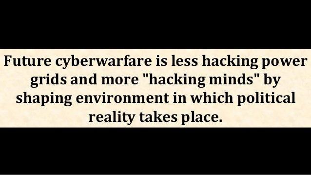 Trend: The world is moving towards a greater strategic use of cyber capabilities to persuade adversaries to change their b...