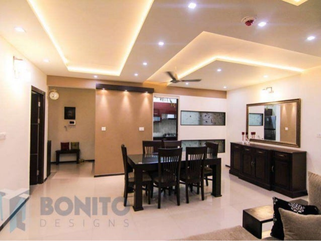 Introduction to bonito designs bangalore for Design of false ceiling for home