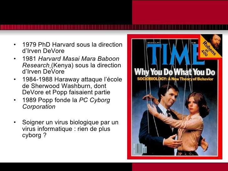 <ul><li>1979 PhD Harvard sous la direction d'Irven DeVore </li></ul><ul><li>1981  Harvard Masai Mara Baboon Research   (Ke...