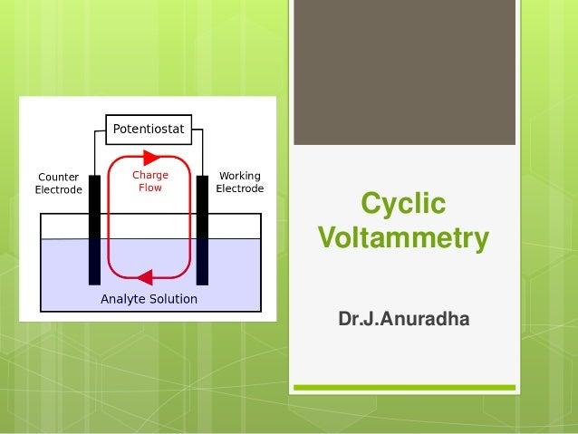 cyclic voltammetry  principle  instrumentation  u0026 applications