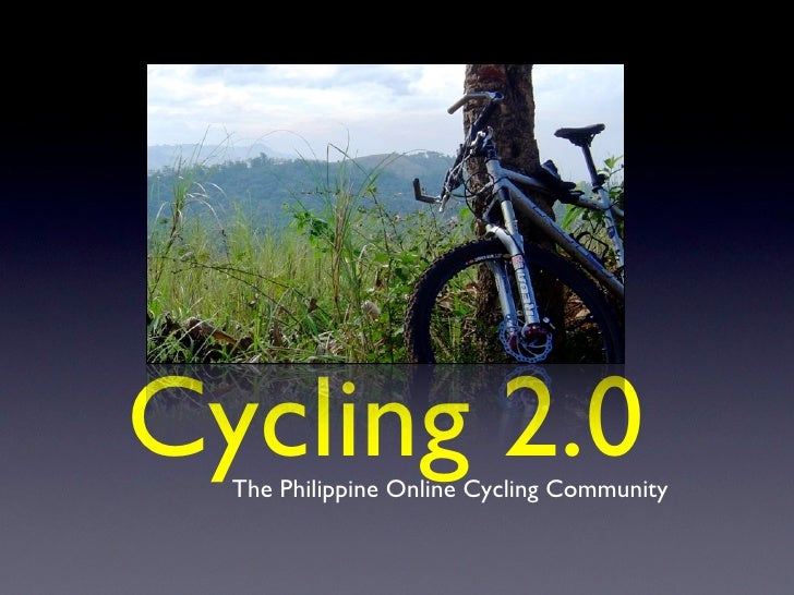 Cycling 2.0   The Philippine Online Cycling Community