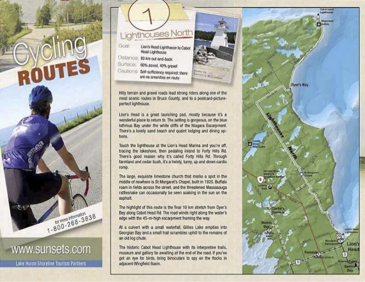 Cycling Routes Map 2011