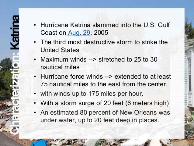 Composition essay hurricane katrina
