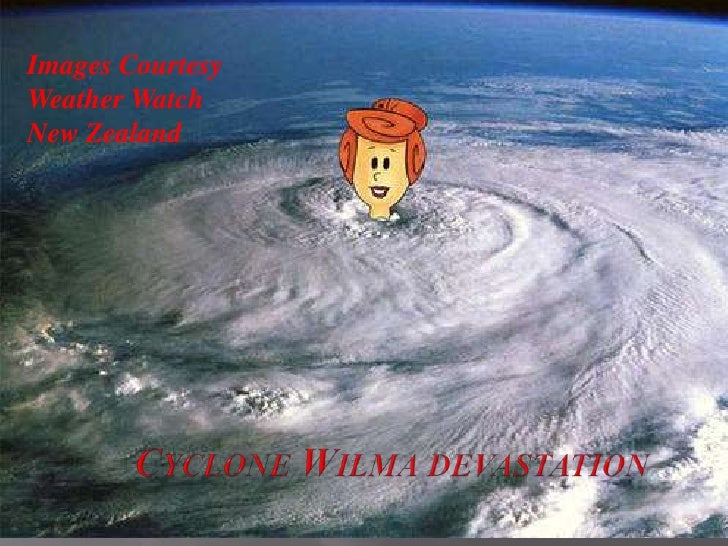 Images Courtesy Weather Watch New Zealand<br />Cyclone Wilma devastation <br />