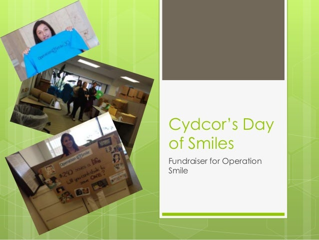 Cydcor's Day of Smiles Fundraiser for Operation Smile